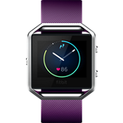 Blaze Smart Fitness Watch - Plum Small