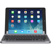 9.7 Aluminum Bluetooth Keyboard for iPad 9.7 - Space Gray