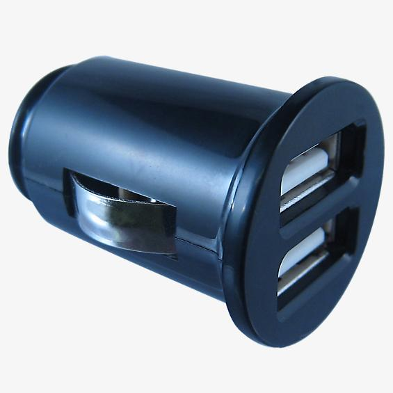 Dual USB Vehicle Charger