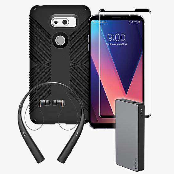 Speck Presidio Grip, Charge, Protection, & Heasdset Bundle for LG V30