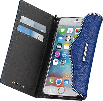 huge selection of 41d6c ecea2 Leather Folio Wristlet for iPhone 6/6s