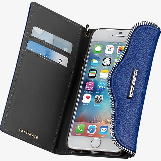 Leather Folio Wristlet for iPhone 6/6s