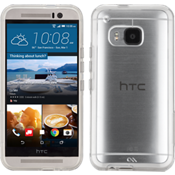 Naked Tough Case for HTC One M9 - Clear/Clear