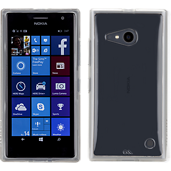 Naked Tough for Microsoft Lumia 735 - Clear