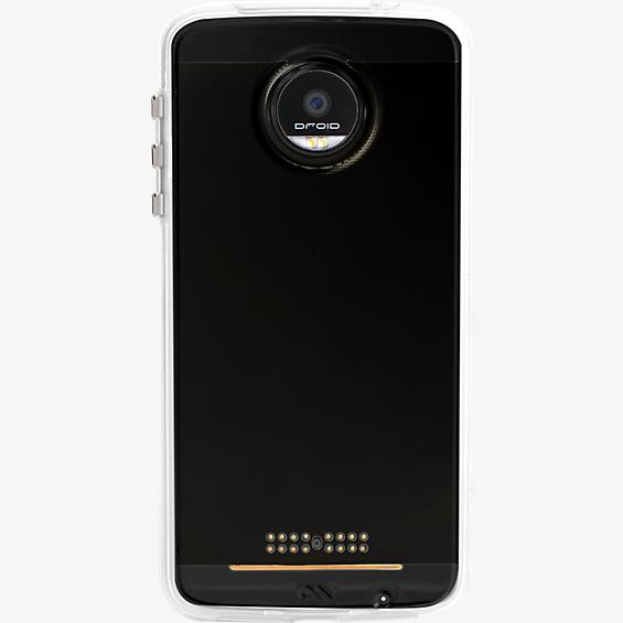 Naked Tough Case for Moto  Z Force Droid - Clear