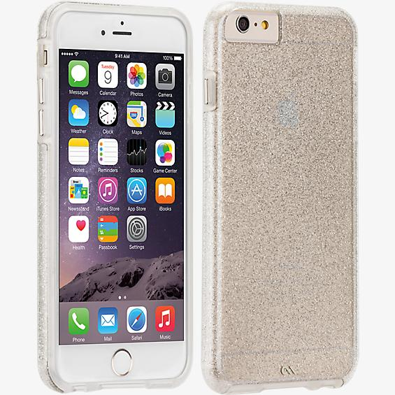 Sheer Glam for iPhone 6 Plus/6s Plus - Clear / Champagne
