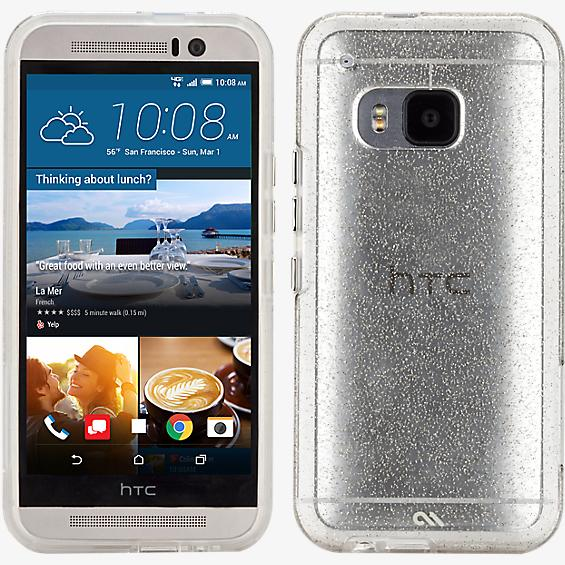 Sheer Glam for HTC One M9 - Champagne