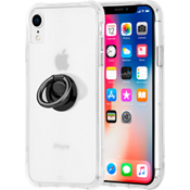 Tough Clear & Black Ring Bundle for iPhone XR
