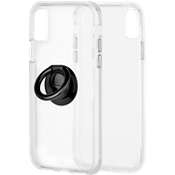 Case-Mate Tough Clear and Black Solid Ring Bundle for iPhone XS Max