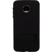 Tough Case with Stand for Moto Z Droid - Black