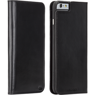 Wallet Folio for iPhone 6 Plus/6s Plus - Black