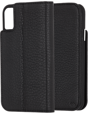 finest selection f70ae 35a45 Wallet Folio Case for the iPhone XS Max