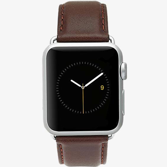 42mm Leather Signature Apple Watch Band Series 3,2,1