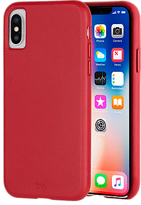premium selection 3a523 4fa02 Barely There Leather Case for iPhone XS/X