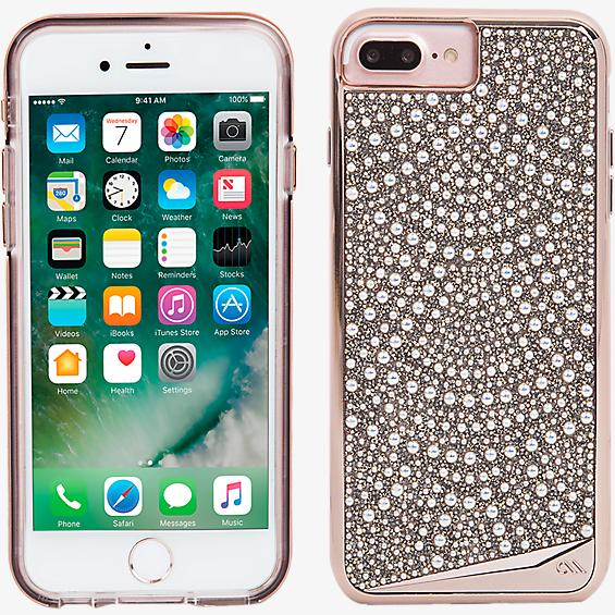 Brilliance Case and Glass Screen Protector Bundle for iPhone 7 Plus