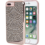 Brilliance Lace Case for iPhone 7 Plus/6s Plus/6 Plus - Rose Gold