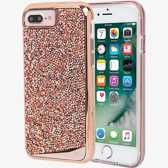 Brilliance Tough Case for iPhone 7 Plus - Rose Gold