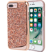 Brilliance Tough Case for iPhone 8 Plus/7 Plus/6s Plus/6 Plus - Rose Gold