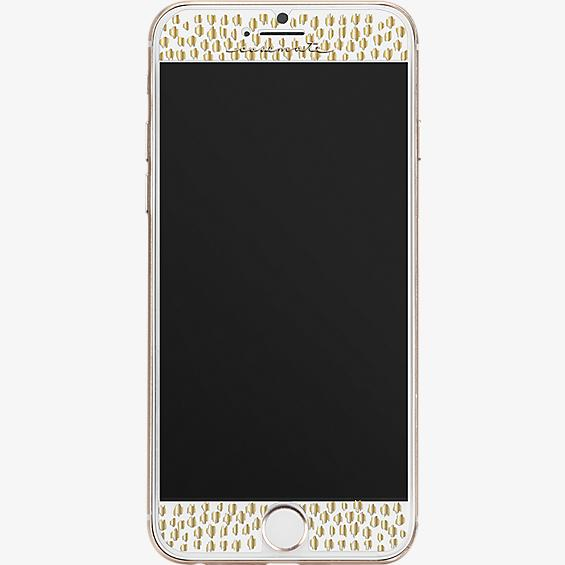 Gilded Glass Screen Protector for iPhone 7
