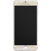 Gilded Glass Screen Protector for iPhone 7 - Champagne