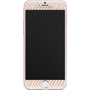Gilded Glass Screen Protector for iPhone 7 Plus - Rose Gold
