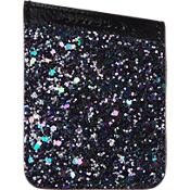 ID Pocket - Black Iridescent Glitter