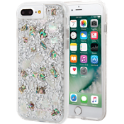 Karat Case for iPhone 8 Plus/7 Plus/6s Plus/6 Plus - Mother of Pearl/Clear
