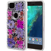 Karat Petals Case for Pixel 2 - Purple