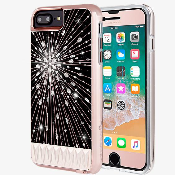 Luminescent and Gilded Glass Bundle for iPhone 8 Plus/7 Plus/6s Plus/6 Plus