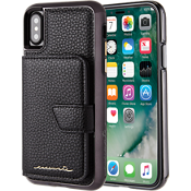 Mirror Wallet for iPhone X - Black