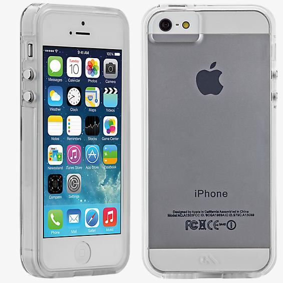 Naked Tough Case for iPhone 5/5s/SE - Clear with Clear Bumper