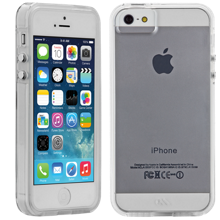 Naked Tough Case for iPhone 5/5s - Clear with Clear Bumper