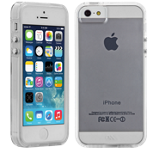 Case-Mate Naked Tough Case for iPhone 5/5s/SE - Clear with Clear Bumper