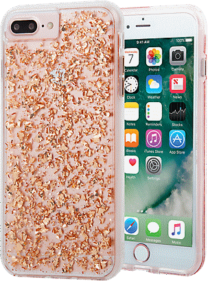 Case-Mate Karat Case for iPhone 8 Plus 7 Plus 6s Plus 6 Plus - Rose Gold c4e102050