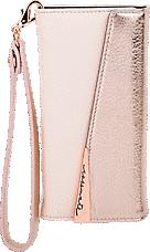 buy online 4349e d5fcd Leather Wristlet Folio Case for iPhone 7 Plus