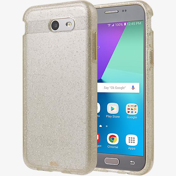 Sheer Glam Case for Galaxy J3 Eclipse