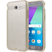 Sheer Glam Case for Galaxy J3 Eclipse - Champagne