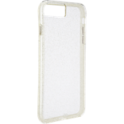 Sheer Glam Case for iPhone 7 Plus - Clear/Champagne