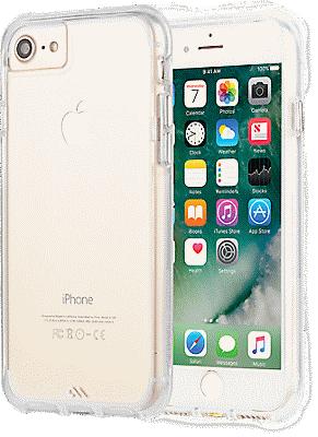 wholesale dealer 49364 a5a91 Tough Clear for iPhone 8/7/6s/6