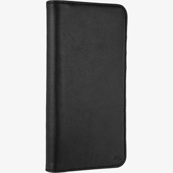 Wallet Folio Case for iPhone 7 Plus - Black
