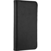 Wallet Folio Case for iPhone 8 Plus/7 Plus/6s Plus/6 Plus - Black