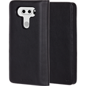 Wallet Folio Case for LG V30 - Black