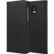 Wallet Folio Case for Moto Z2 Play - Black