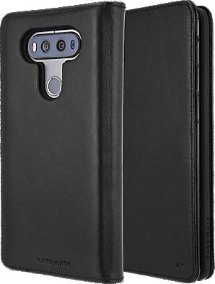 wholesale dealer b6e9b a616c Wallet Folio Case for LG V20 - Black