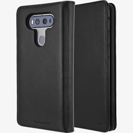 Wallet Folio Case for LG V20 - Black