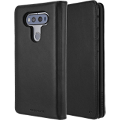 Wallet Folio Case for LG V20 - Black