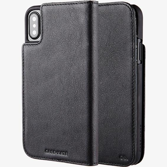 Wallet Folio Case for iPhone XS/X