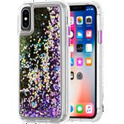 Waterfall Case for iPhone XS/X - Purple Glow