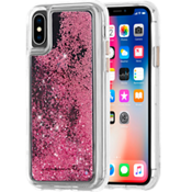 Waterfall Case for iPhone XS/X - Rose Gold