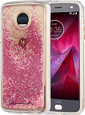 quality design 8706a 8a774 Waterfall Case for moto z2 force edition